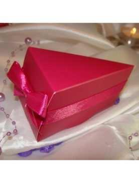 Pudełeczka dla gości torciki kawałki tortu
