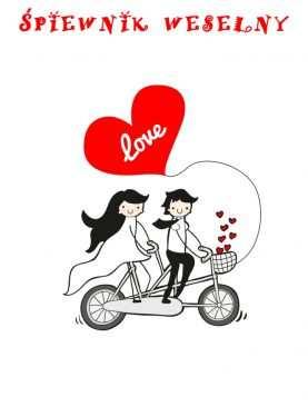 Śpiewnik śpiewniki weselne weselny projekt IMIONA I DATA WZÓR 4