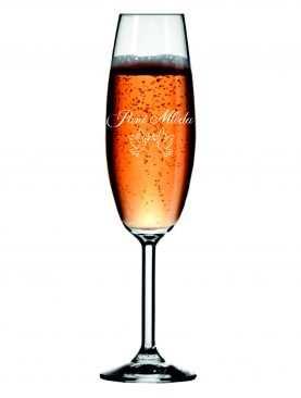 Kieliszek z grawerem grawerowane kieliszki do szampana WZÓR 3