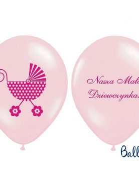 Balony pastelowe Nasza Mała Dziewczynka