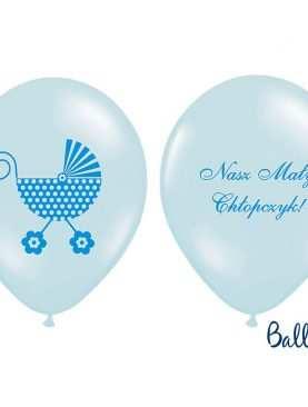 Balony pastelowe Nasz Mały Chłopczyk