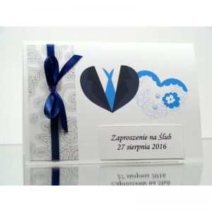 Zaproszenie ślubne zaproszenia na wesele Wzór 154