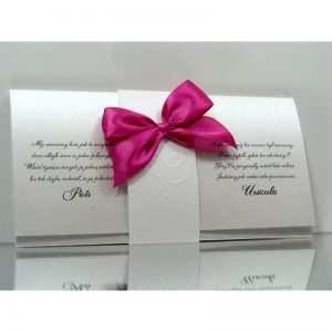 Zaproszenie ślubne zaproszenia na wesele Wzór 156