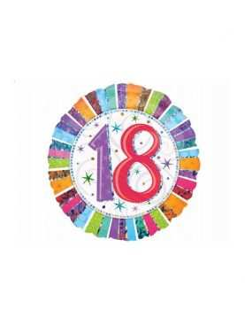 Balony urodzinowe foliowe MEGA 18-100 numerki