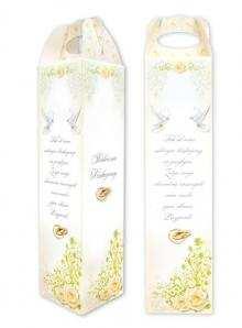 Pudełko na alkohol podziękowanie dla Gości weselnych