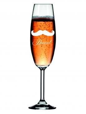 Kieliszek z grawerem grawerowane kieliszki do szampana WZÓR 6