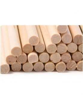 Patyczki beleczki drewniane 100 szt 220mm x 6mm