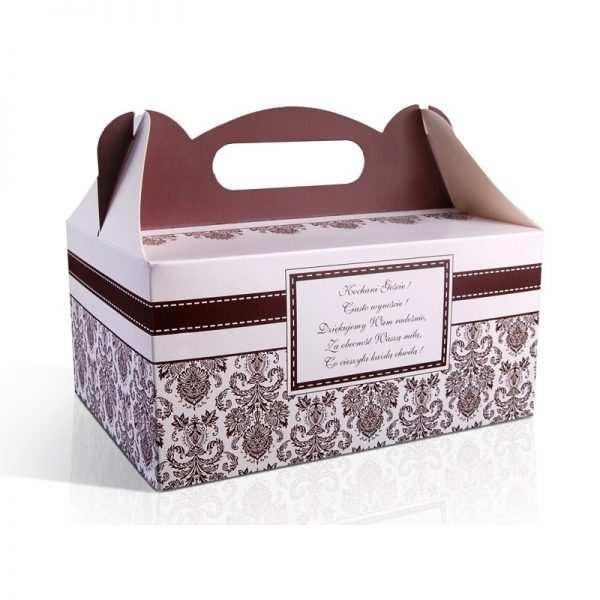 Pudełka na ciasto tekturowe pudełko