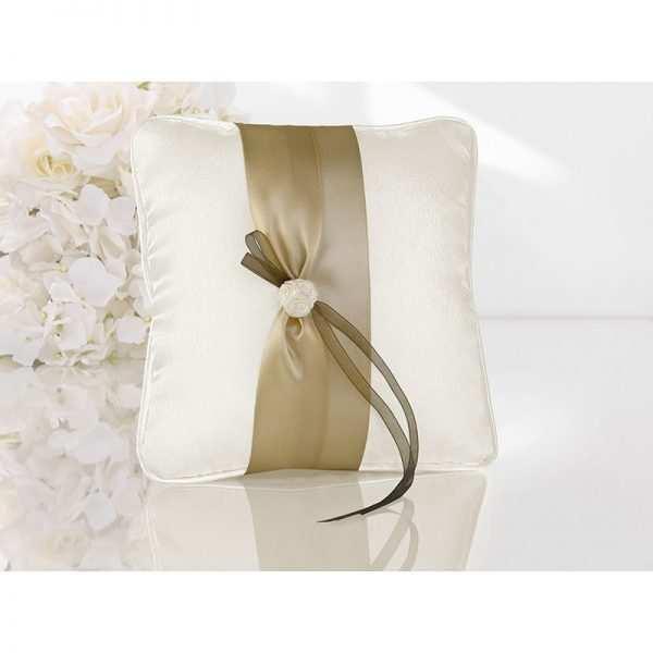 Poduszka pod obrączki kolekcja Złote Serce