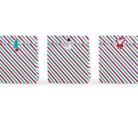 Torebki papierowe do prezentów Merry Xmas Święta