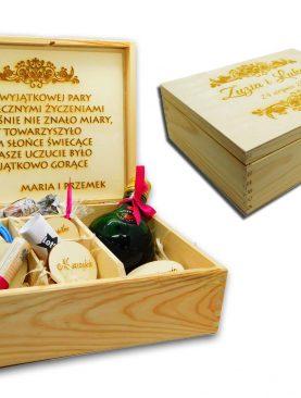 Duży NIEZBĘDNIK małżeński prezent ślubny - pudełko