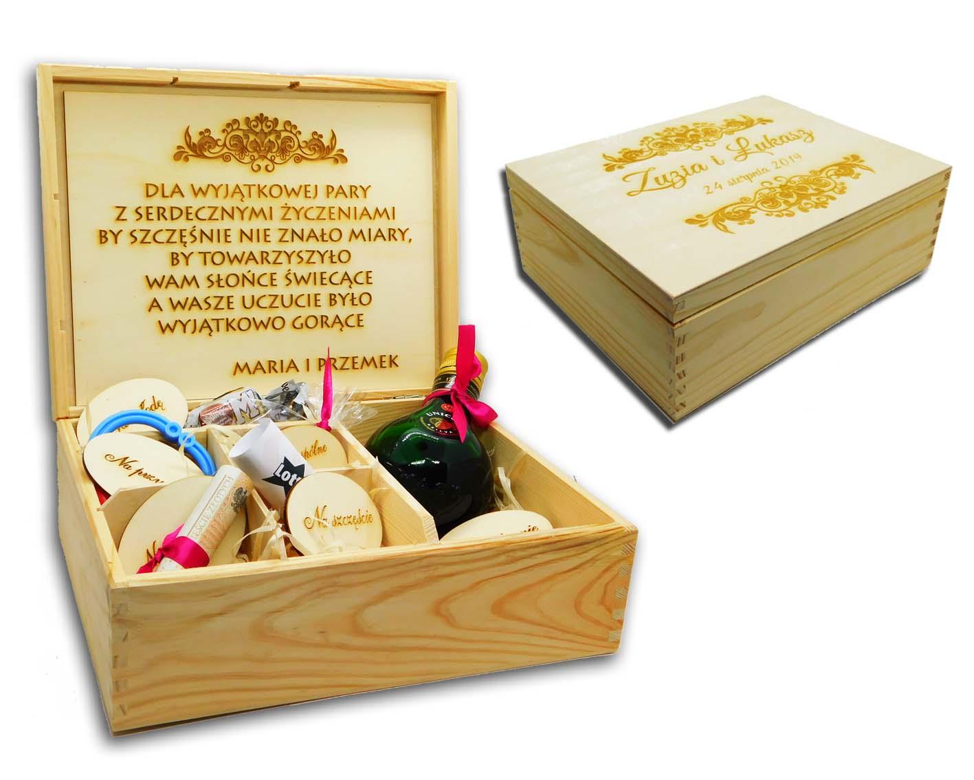 5809d01d2386b3 Duży NIEZBĘDNIK małżeński prezent ślubny - pudełko - Dekorak