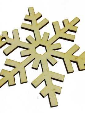 Gwiazdki GWIAZDA drewniane ze sklejki 12 cm ozdoba ze sklejki 3mm Rozeta
