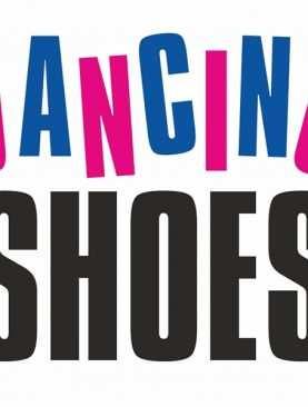 Naklejki na buty do sesji 2szt zdjęciowej kościoła DANCING SHOES