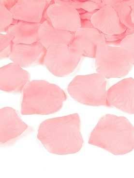 Płatki róż 100 szt sztuczne konfetti JASNY RÓŻOWY