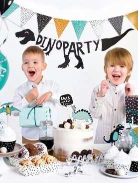 Zestaw Urodzinowy URODZINY ROCZEK Topper balony BOX