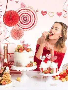 Zestaw Urodzinowy URODZINY ROCZEK Topper balony BOX SWEET LOVE