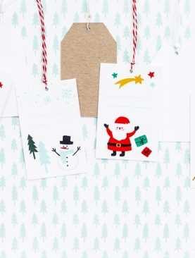 Zawieszki do prezentów Merry Xmas 6szt zawieszka