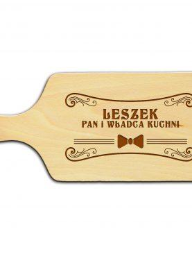 Deska z grawerem najlepszy kucharz
