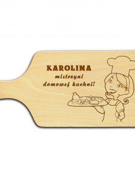 Deska z grawerem na prezent Mistrzyni Kuchni