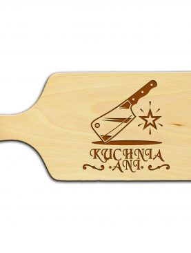 Prezent dla miłośnika kuchni deska drewniana