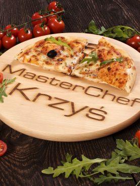 Deska obrotowa z GRAWEREM pod pizze 30cm