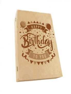 Kuferek SKRZYNECZKA urodzinowa z GRAWEREM wzór 4