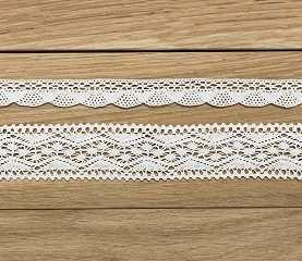 Koronka KORONKI biała 35mm taśma ozdobna wstążka