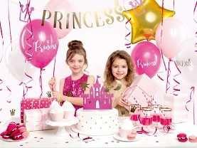 Zestaw Urodzinowy URODZINY ROCZEK Topper balony BOX PRINCESS