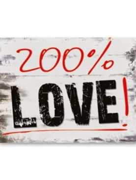 Naklejki na buty do sesji 2szt zdjęciowej kościoła 200% LOVE