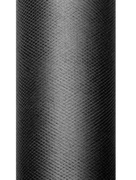 Tiul gładki 15 cm x 9 metrów CZARNY