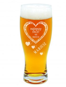 Szklanka na piwo dla NAJLEPSZEGO CHŁOPAKA