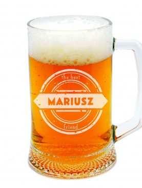 Personalizowany Kufel do piwa DLA PRZYJACIELA