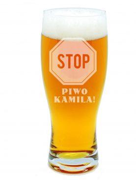 Kufel do piwa STOP