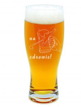 Kufel do piwa NA ZDROWIE