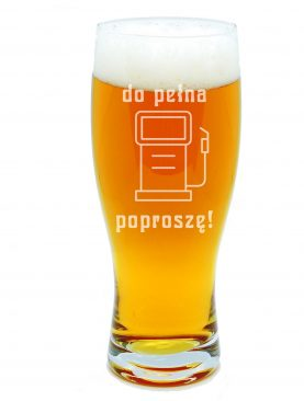 Kufel do piwa DO PEŁNA POPROSZĘ