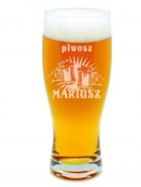 Szklanka na piwo PIWOSZ z kuflem