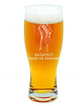 Szklanka na piwo NAJLEPSZY FACET