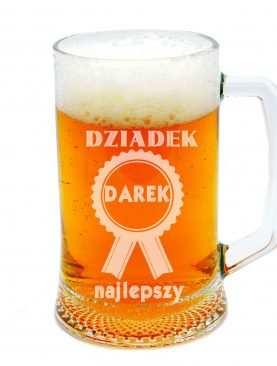 Szklanka do piwa DZIADEK na medal