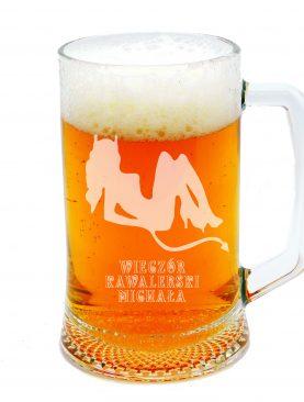 Kufel na piwo z diabełkiem WIECZÓR PANIEŃSKI