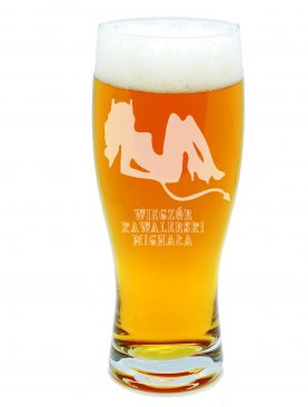 Szklanka na piwo WIECZÓR KAWALERSKI