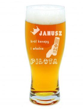 Szklanka na piwo JANUSZ król kanapy