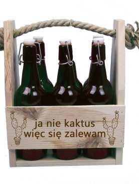 Skrzynka z personalizacją na piwo