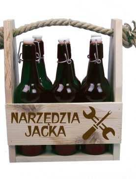 Nosidło na piwo Narzędzia Dziadzia + dowolne imię