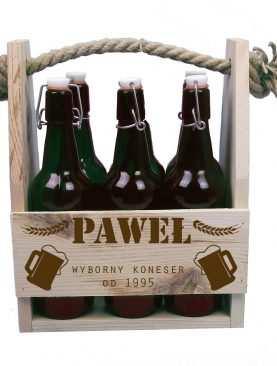 Skrzynka na piwo 6-pak