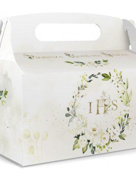 Pudełko na ciasto z wianuszkiem IHS