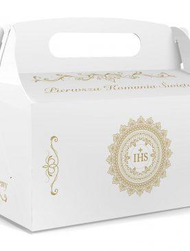 IHS pudełeczka dla Gości na podziękowanie