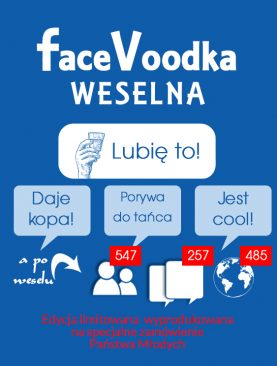 Etykiety na wódkę z humorem - FACEBOOK