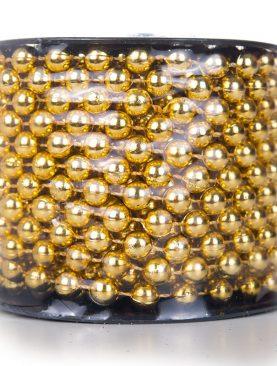 Korale na Szpuli złote 10m 8mm ZŁOTO koraliki