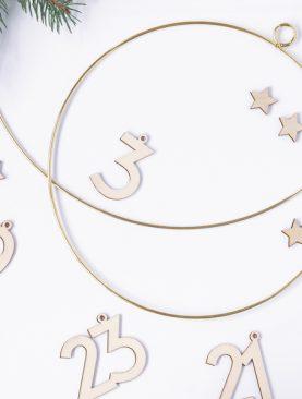 Metalowe koła obręcze ring koło zawieszka 20 i 28 cm